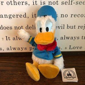 Disney Donald Duck Plush- NWT